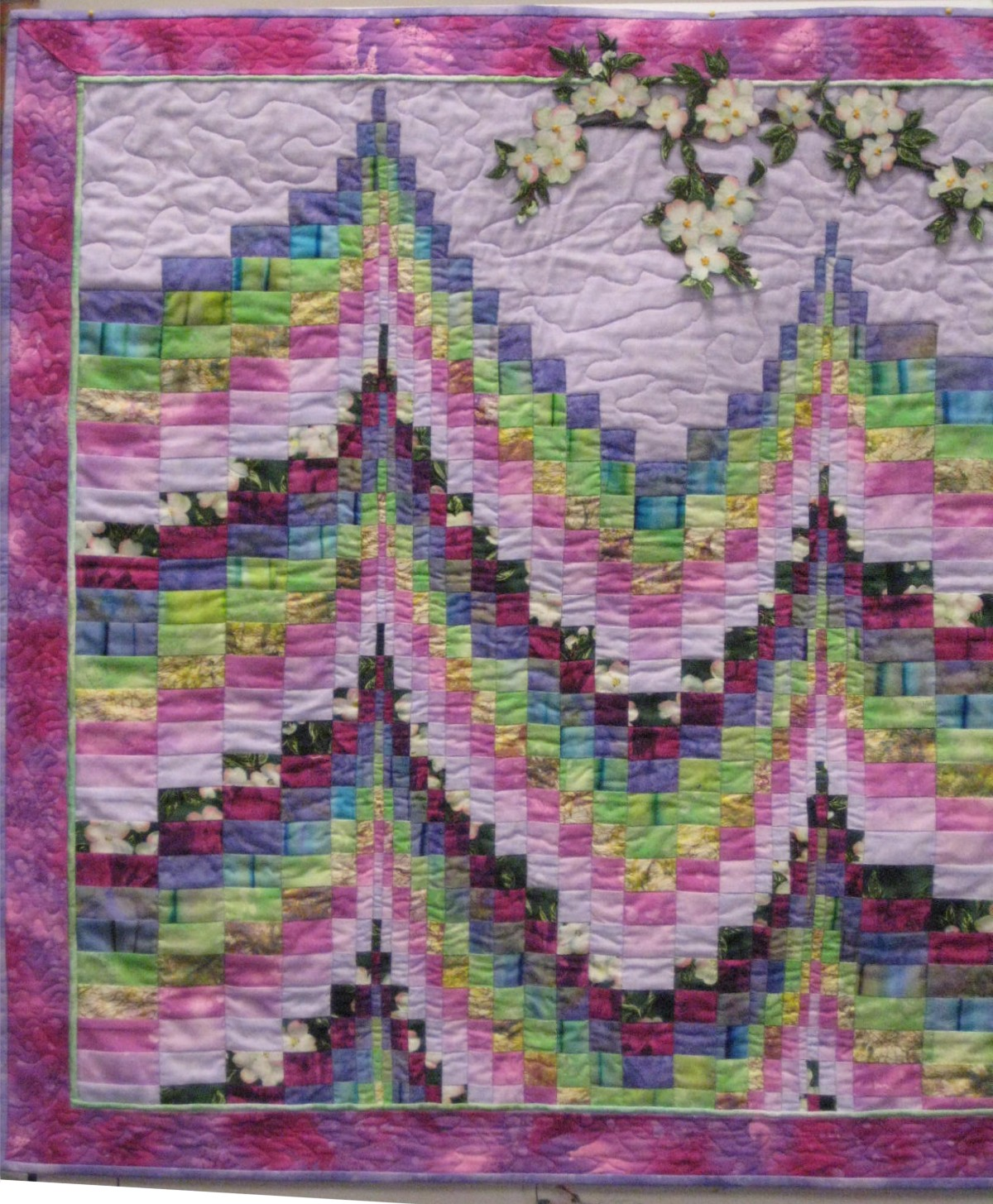 Quilting Guild Program Ideas : March 2011 Program: Martha Akers on Bargello Star Quilters Guild