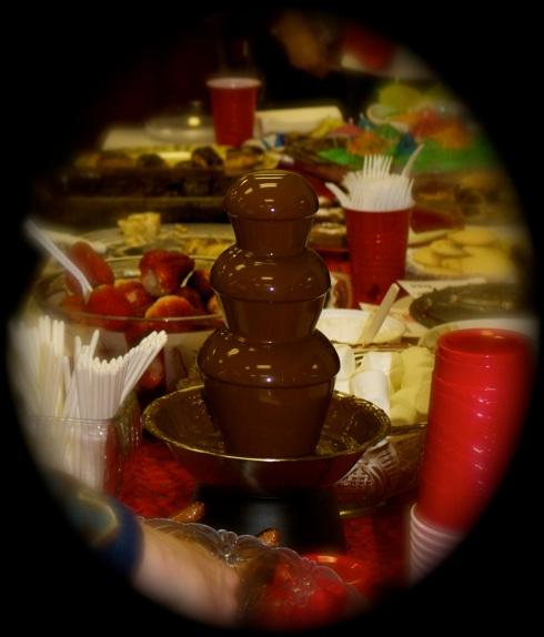 Sue Berry's Chocolate Fountain
