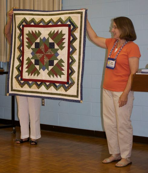 Kathy Wickham's Round Robin Quilt will be shown in Virginia Quilt Museum's Star Quilts Show.