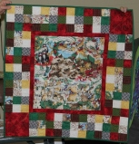 Tam McBride - 12 Days of Cats Christmas quilt