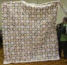 Tam McBride - Double Wedding Ring quilt