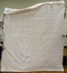 Tam McBride - Double Wedding Ring quilt, back