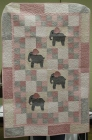 Donna Watts - Elephant baby quilt