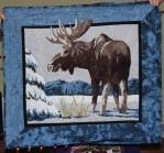 Diana Van Hise - Moose wallhanging