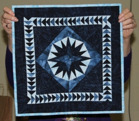 Ann Weaver - Paper Pieced Star wallhanging