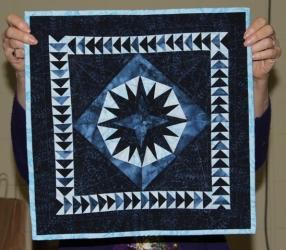 Ann Weaver - Paper Pieced Star wallhanging