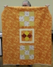 "Gisela O"" Connor - Comfort quilt with 1st time pieced backing"