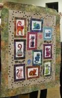Diana Van Hise - Cat quilt