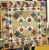 Judy Coffman - Prinitive Girls quilt