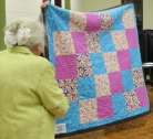 Ginny Vaden - All is Well quilt back