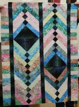 Barbara Badger - French Braid quilt