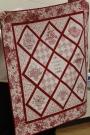 Donna Kittleson - Red Work Baskets quilt