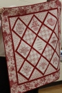 Donna Kittleson - Red Work Baskets quilt