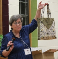 Ann Ware - Ten Minute Table Runner turned into Tote Bag