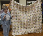 Tam McBride - Vintage Wedding Ring quilt