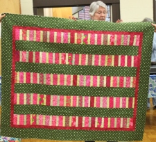 Terry Doyle - Shop Hop leftovers quilt