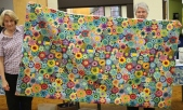 Terry Doyle - Shop Hop leftovers quilt back