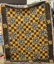 Donna Watts - Pittsburgh Steelers quilt for Duaghter-in-law's 50th birthday