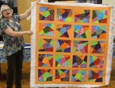 Linda Greene - Pointless Stars quilt