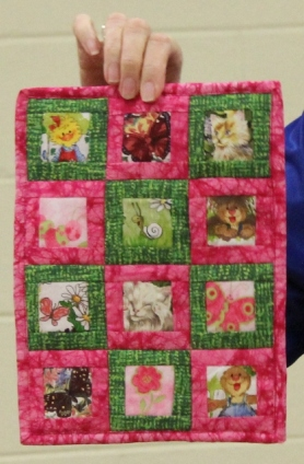 Kathy Martin - Open Window mini quilt