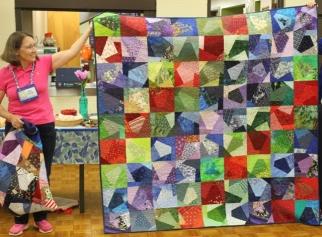 Kathy Wickham - Crazy quilt for Ann Ware