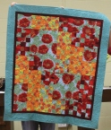 Claire Hightower - Fabric challenge quilt