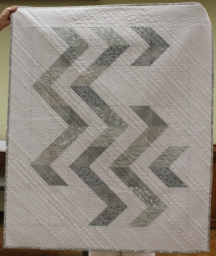 Loretta Bedia - Shades of Gray quilt