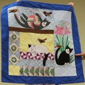 Judi Byrd - Cat quilt