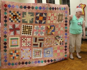 Donna Watts - Scrap block charity quilt