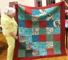 Ginny Vaden - back of Bird Lover's quilt.