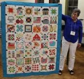 Ann Ware - Farm Girl quilt.