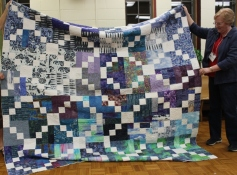 Susan Kraterfield - Blue Scraps Quilt