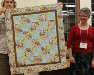 Laurie Lyons - Baby Quilt with Animals