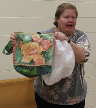Barbara Badger - Rose tote bag