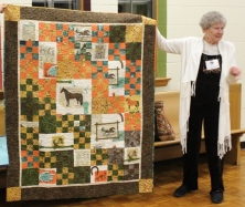 Elsie Bailey - Champ Bill Bailey quilt
