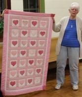 June Chichester - Baby quilt