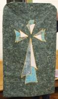 Judy McWhorter - Banner quilt for Brandon Oaks Chapel