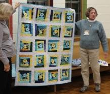 Judy Bradley - Comfort quilt made by Bobbi Badger