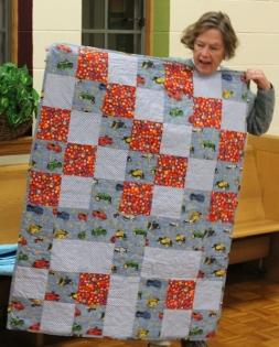 Judy Bradley - Comfort quilt