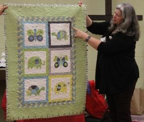 Dawn Schaben - Baby quilt.