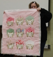 Kathy Martin - Sweet Baby Hedgehog Quilt