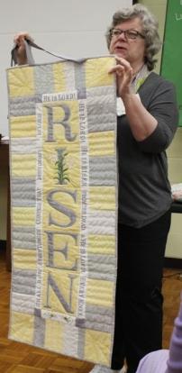 Diana Van Hise - Easter Banner Quilt