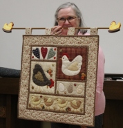 Gisela O'Connor - Chicken Coop Quilt