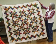 Donna Campbell - Glory Bound quilt.