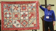 Ann Ware - Block of the Month quilt.