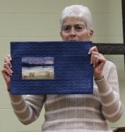 Donna Kittleson - Landscape Miniature quilt.