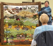 Susan Kraterfield - Piecemaker's Train Quilt.