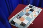 813 Symphony Tablerunner and Coasters-Wickham