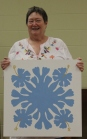 Susan Kraterfield - Hawaiian Barn Quilt