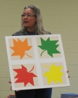 Denise Lloyd - Maple Leaves Barn Quilt